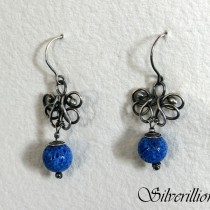 Blue Coral Butterfly 01_ Silverillion