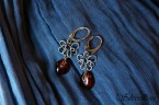Earrings amber 03_ Silverillion
